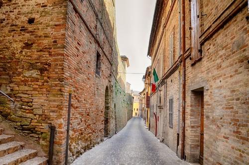 Ανκόνα: Αστική αρχιτεκτονική. Αγκόνα. Ιταλία.