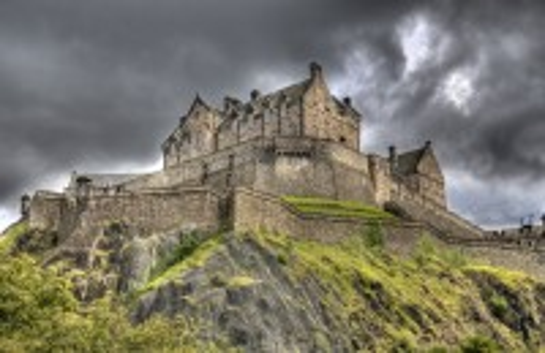 Εδιμβούργο: Το μεσαιωνικό Κάστρο του Εδιμβούργου. Σκωτία.