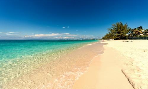 Γκραντ Κέϊμαν: Ακτή 7 μιλίων στο Γκραντ Καϋμάν. Καραϊβική.