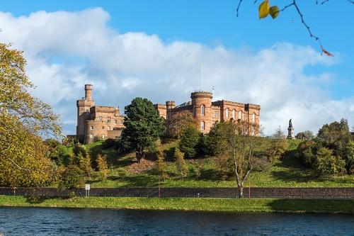 Ινβέρνες - Λοχ Νες: Το κάστρο Ινβέρνες. Σκωτία.