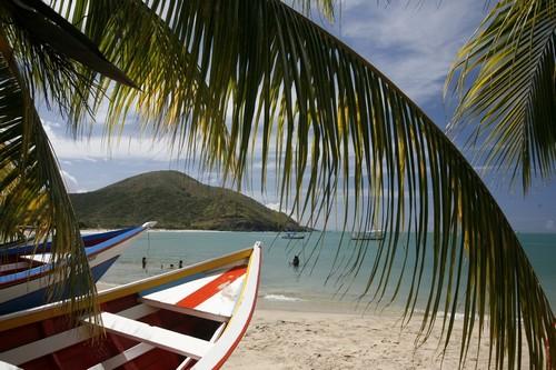 Ίζλα Μαργκαρίτα: Η παραλία Pedro Gonzalez στο νησί Mαργκαρίτα. Βενεζουέλα.