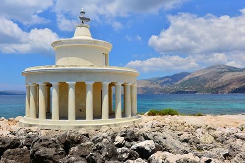 Κεφαλονιά: Ο Φάρος των Αγίων Θεοδώρων στην Κεφαλονιά. Ελλάδα.