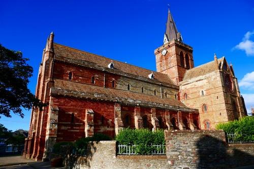 Κίρκγουολ : Καθεδρικός ναός St Magnus - Κίρκγουολ. Σκωτία.