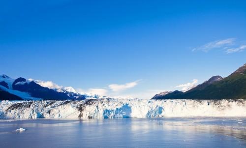 Κόλλετζ Φιορδ ( Αλάσκα ): Παγετώνας του Χάρβαρντ στο Κόλλετζ Φιορδ. Αλάσκα.