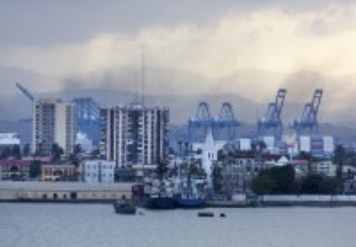 Κολόν: Το Λιμάνι της Κολόν. Παναμάς.