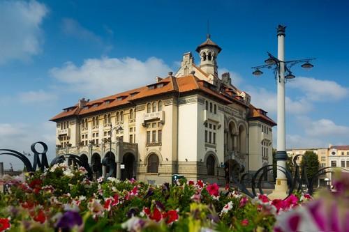 Κωστάντζα: Κτίριο του Μουσείου Εθνικής Ιστορίας και Αρχαιολογίας στην Κωστάντζα. Ρουμανία.