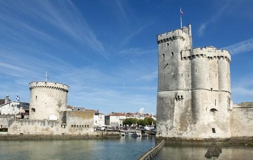 Λα Ροσέλ: Το λιμάνι της Λα Ροσέλ μια μέρα του φθινοπώρου. Γαλλία.