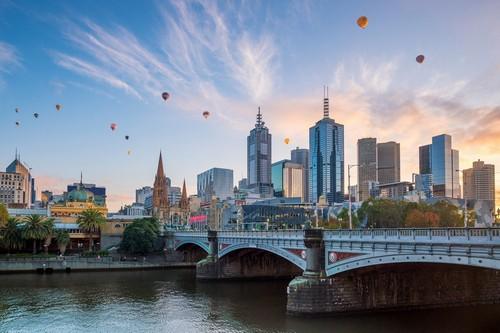 Ανακάλυψη Αυστραλίας - Από Μελβούρνη (19Cun45) (Μελβούρνη)