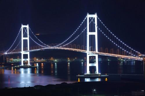 Μουροράν: Νυχτερινή άποψη στο Μουροράν. Ιαπωνία.
