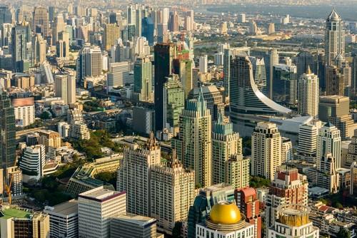 Μπανγκόκ (Laem Chabang): Η σύγχρονη πόλη της Μπανγκόνγκ. Ταϋλάνδη.
