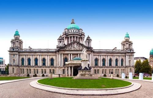 Μπέλφαστ: Δημαρχείο του Μπέλφαστ. Ιρλανδία.