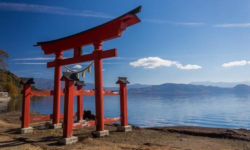 Μπεπού: Κόκκινη πύλη. Μπεπού. Ιαπωνία.
