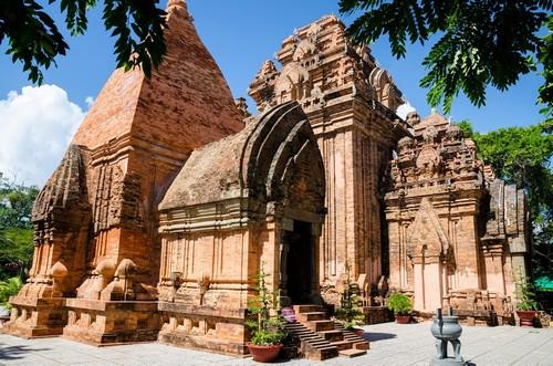 Να Τρανγκ: Po Nagar, πύργος ναού Cham που ιδρύθηκε πριν από το 781 μ.Χ. Να Τρανγκ. Βιετνάμ.