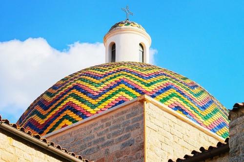 Όλμπια (Σαρδηνία): Εκκλησία του Αποστόλου Παύλου ( San Paolo Apostolo ) στην Όλμπια. Σαρδηνία. Ιταλία.