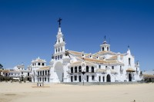 Ουέλβα: To Χωριό El Rocio. Ουέλβα. Ανταλουσία. Ισπανία.