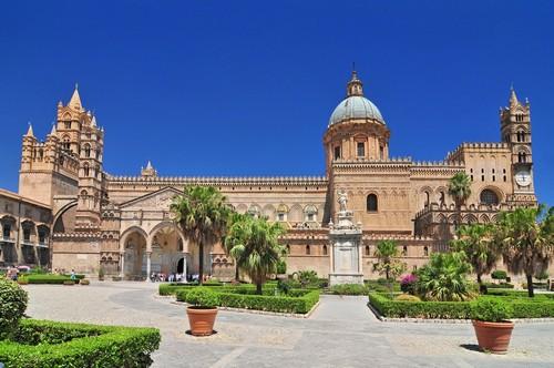 Παλέρμο (Σικελία): Καθεδρικός ναός Ρωμαϊκής εκκλησίας. Παλέρμο. Σικελία. Ιταλία.