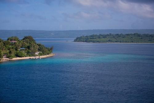 Πορτ Βίλα (Βανουάτου): Όμορφη μέρα στο λιμάνι Βίλα στον κόλπο Μελέ του Ειρηνικού ωκεανού. Νέα Καληδονία.