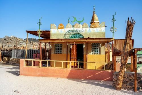Σαφάγκα: Ιερό Βεδουίνων στην ανατολική έρημο κοντά στη Σάφαγκα. Αίγυπτος.