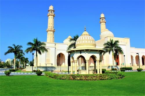 Σαλάλα: Mεγάλο τζαμί στο Σαλάλα. Ομάν.