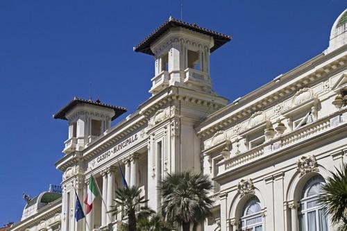 Σαν Ρέμο: Το Δημοτικό Καζίνο του Σαν Ρέμο. Γαλλία.