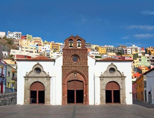 Σαν Σεμπάστιαν (Λα Γκομέρα): Ο Άγιος Σεβαστιανός και η πόλη Σαν Σεμπάστιαν. Κανάρια νησιά. Ισπανία.
