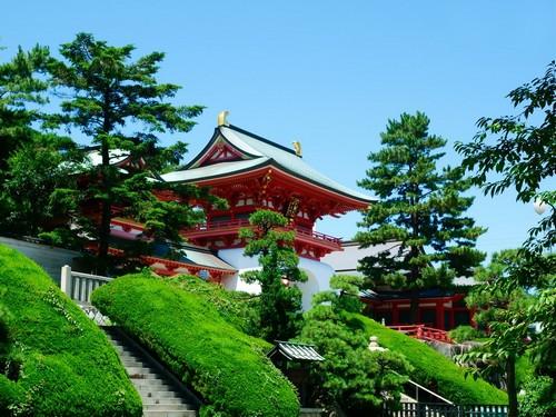 Σιμονοσέκι: Ιερό στο Σιμονοσέκι, Yamagutchi. Ιαπωνία.