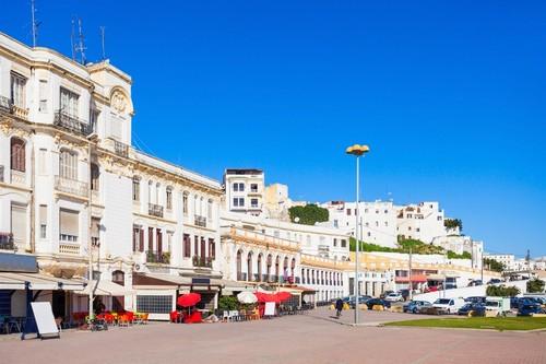 Ταγγέρη: Σπουδαία πόλη και λιμάνι στις ακτές της Βόρειας Αφρικής. Ταγγέρη. Μαρόκο.