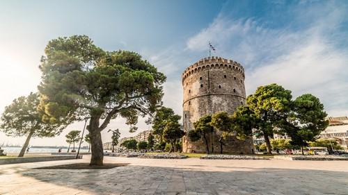 Θεσσαλονίκη: Ο Λευκός Πύργος της Θεσσαλονίκης. Ελλάδα.