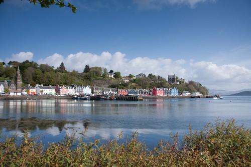 Τομπερμόρυ - Νησί Μούλ: Το λιμάνι Τομπερμόρι, στο Νησί Μουλ. Σκωτία.