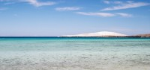 Τοπολομπάμπο: Τροπική παραλία στο Τοπολομπάμπο. Βαja California. Μεξικό.
