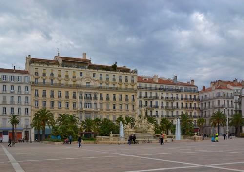 Τουλόν: Πλατεία 'De La Liberte'. Tετράγωνο ελευθερίας. Τουλόν. Γαλλία.