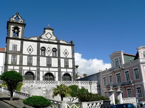 Χόρτα (Αζόρες): Η εκκλησία του Αγίου Φραντζίσκου. Χόρτα. Αζόρες.