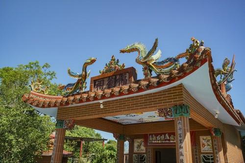 Χουαλιέν: Παραδοσιακός ναός στο Xoυάλιεν. Ταϋλάνδη.